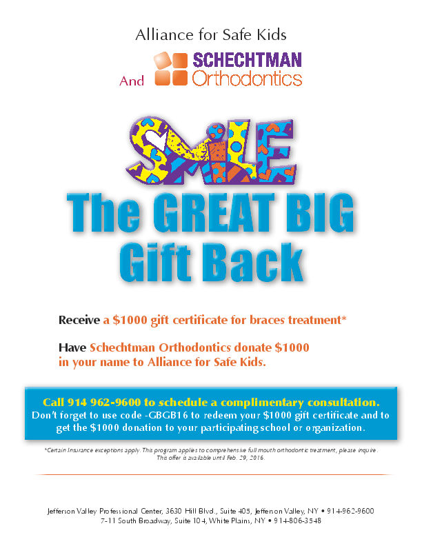 Great Big Gift Back - Dr. Schectman